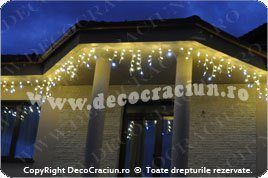 turturi luminosi leduri exterior craciun